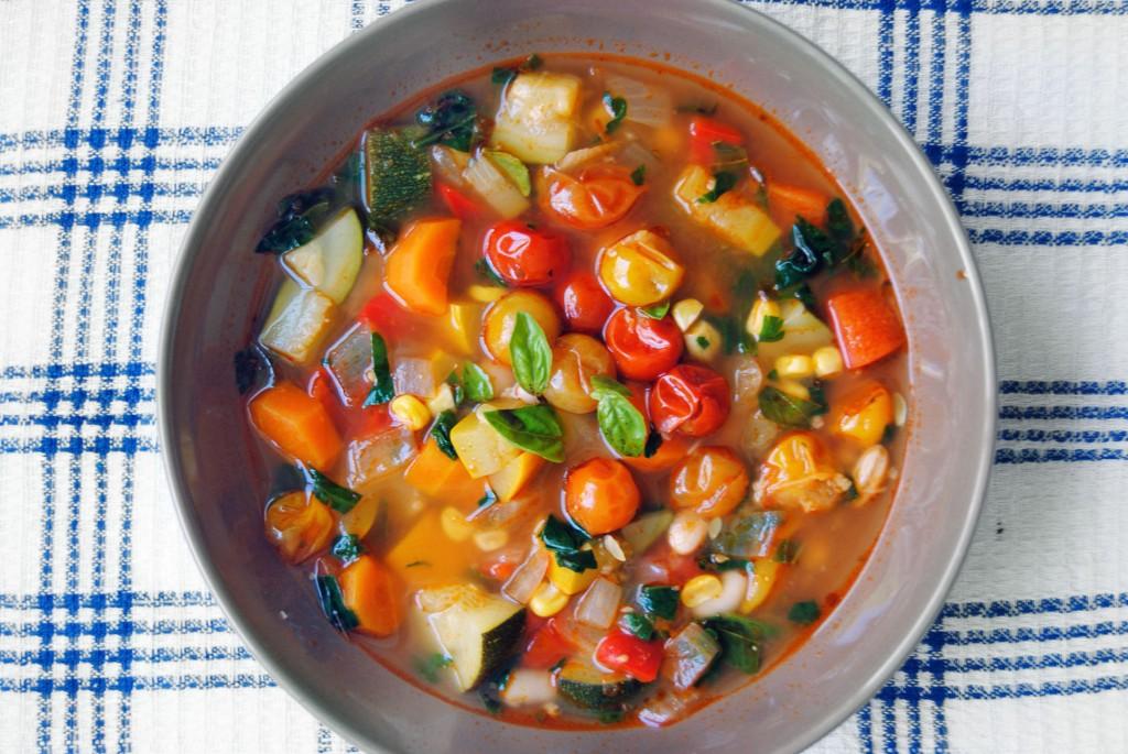 tomato minestrone