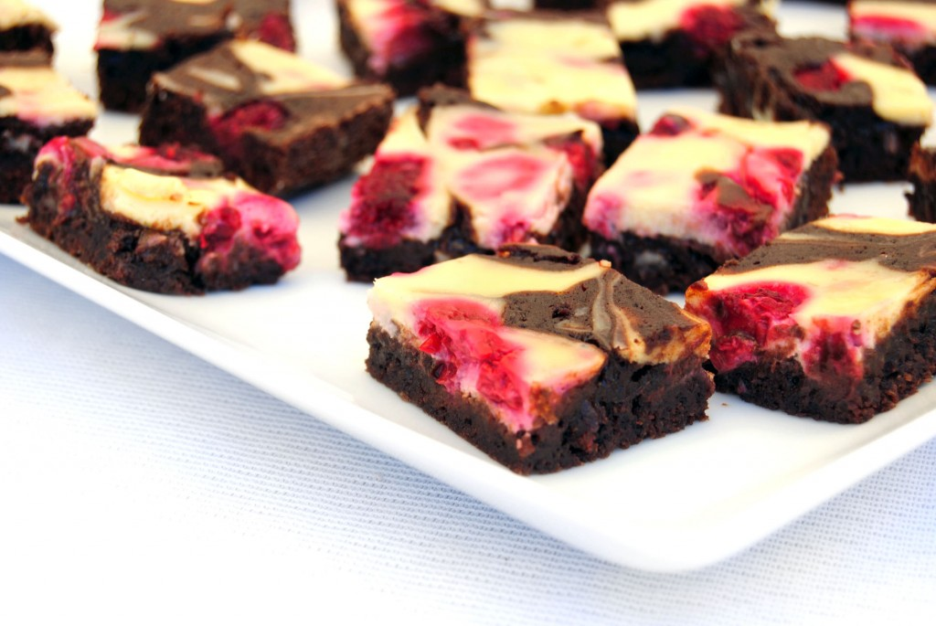 raspberry cheesecake brownies fg